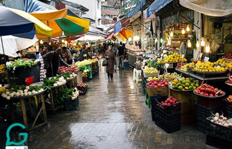 جاذبه گردشگری رشت | بازار بزرگ رشت