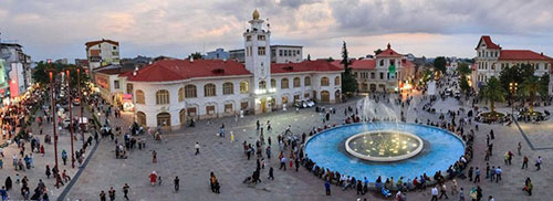 آشنایی با میدان شهرداری رشت