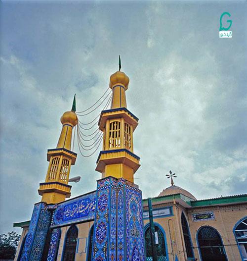 بقعه خواهر امام رضا در رشت